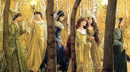 Οι Τρεις Πριγκίπισσες που Χόρευαν και Τραγουδούσαν